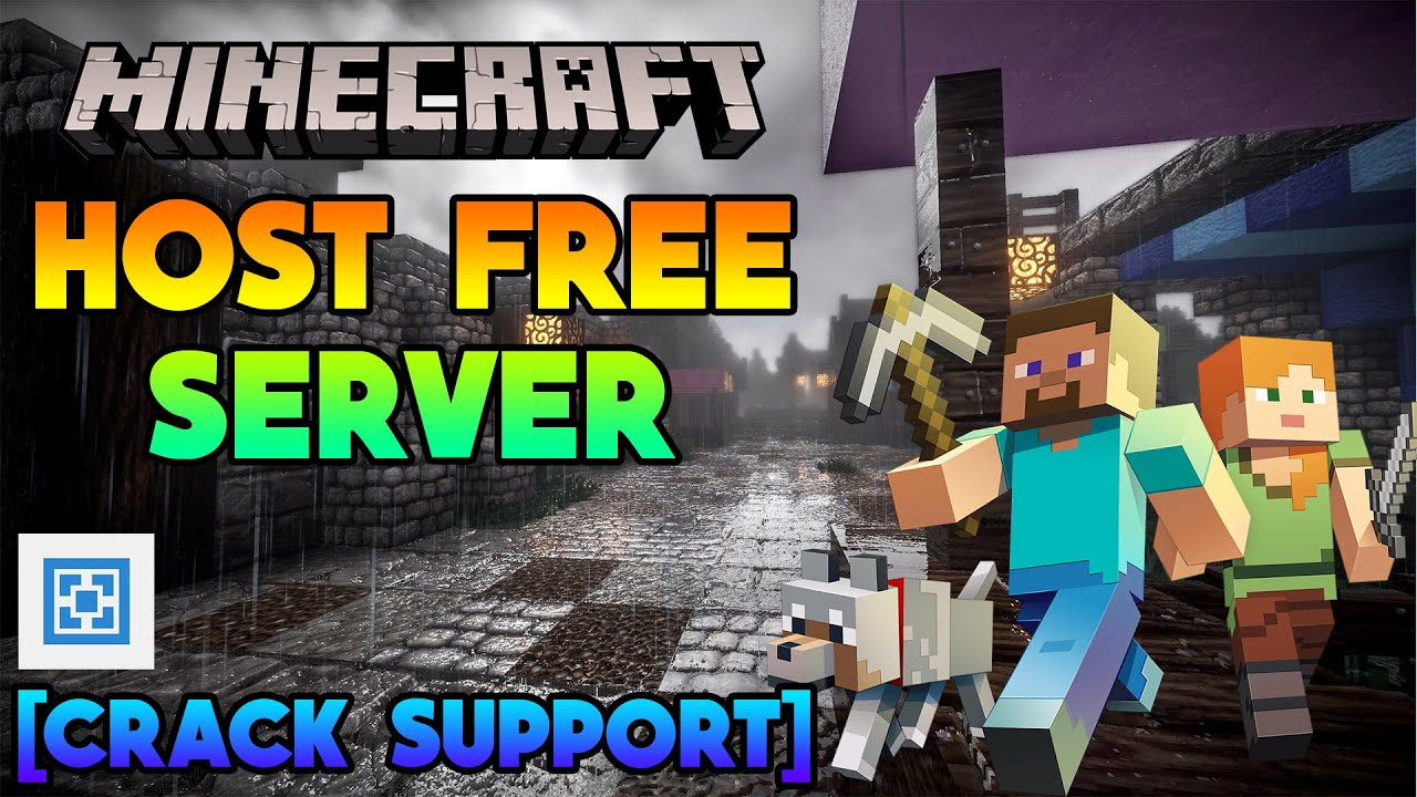 Host A Minecraft Server For FREE !!!  Supports Cracked / TLauncher   Rounak Choudhary  Hindi
