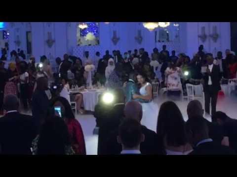 Wedding Le Footballeur Neeskens Kebano & Lesly Kebano (ouverture de la piste 💃🏿❤️🕺🏿) Le 2017.06