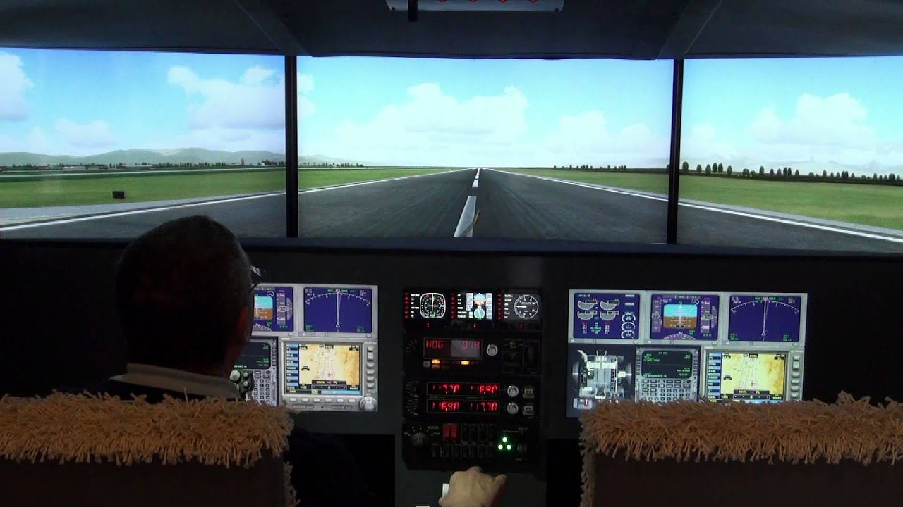 simulador de vuelo boeing 737 hecho en casa youtube