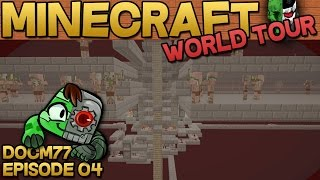 AFK Gold XP Farm - The Minecraft World Tour - S4E04 | Docm77