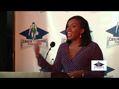 2017 Chuck Cooper Foundation luncheon remarks by Talia Kirkland