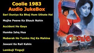 Coolie 1983 Audio JukeBox | All Songs | Amitabh Bachchan | Rishi Kapoor | Rati Agnihotri,Shoma Anand