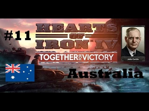 HoI IV: Together for victory - Australia - South-West Pacific Initiative - Part 11 - No commentary