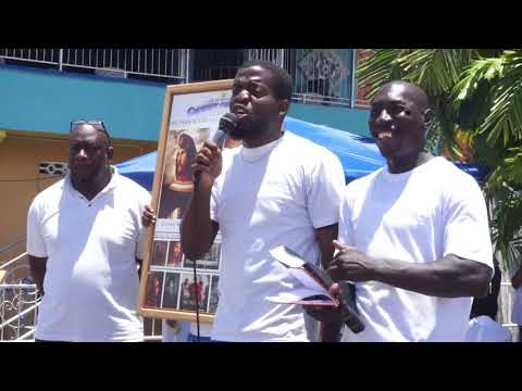 Gocc Trinidad and Tobago {Street Preaching} Lifting the vail