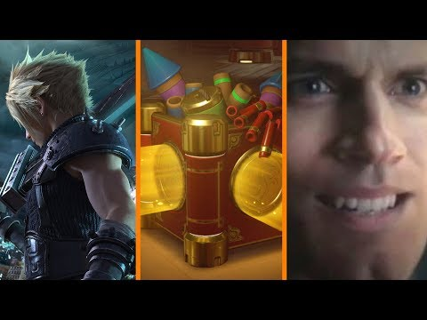 Final Fantasy VII Remake Going GREAT + Sweden vs Lootboxes + AI Saves Superman's Face - The Know