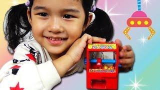 ラムネ菓子が取れる!HARAHARAクレーンゲーム Crane game toy himawari-CH thumbnail