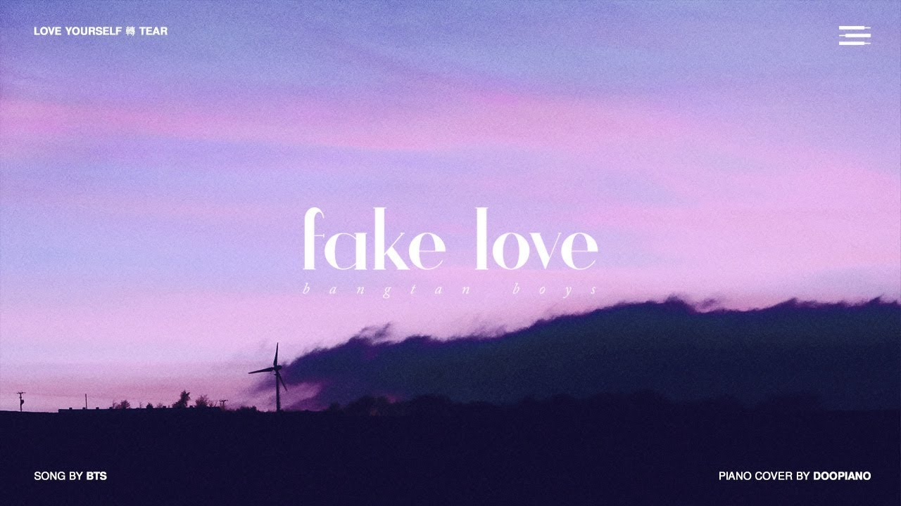 Bts 방탄소년단 Fake Love Piano Cover Chords Chordify