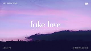 Gambar cover BTS (방탄소년단) - Fake Love Piano Cover