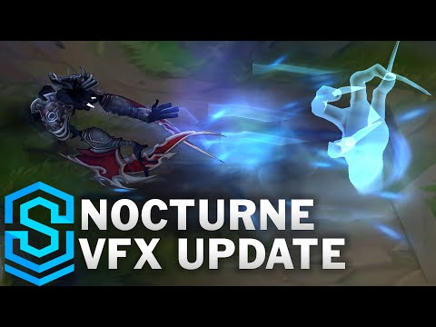 Nocturne Visual Effect Update Comparison - All Skins | League Of Legends