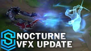 Nocturne Visual Effect Update Comparison - All Skins   League Of Legends