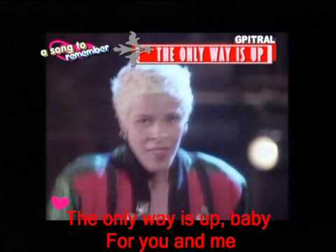Yazz    The only way is up   Lyrics