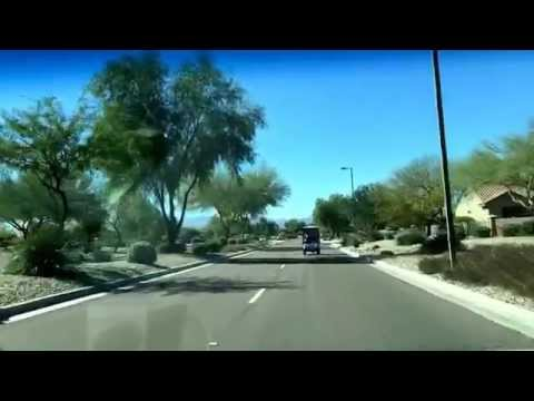 A drive around the perimeter of Sun City Grand in Surprise, Arizona
