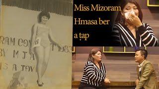 Miss Mizoram Hmasa ber Brigitte Zohmingi kawmna   nga ti nge a ṭah??