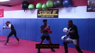 WALT HARRIS WORKING OUT FOR MAY 4 FIGHT VS SERGEY SPIVAK