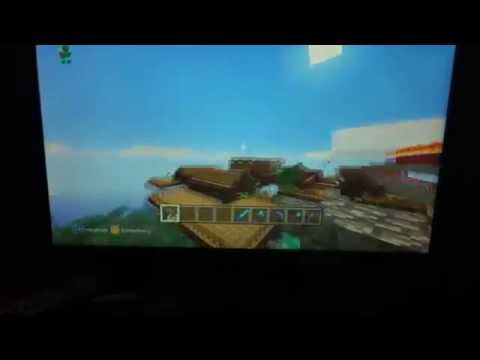 minecraft the big castle seed on xbox 360
