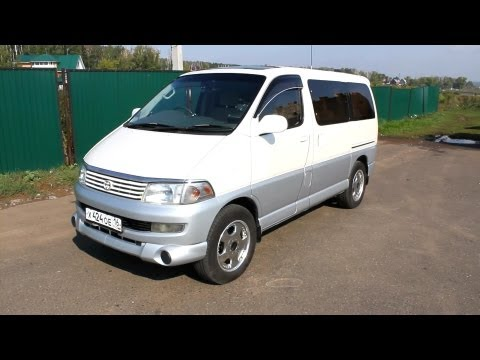1997 Toyota Hiace Regius. Start Up, Engine, and In Depth Tour.