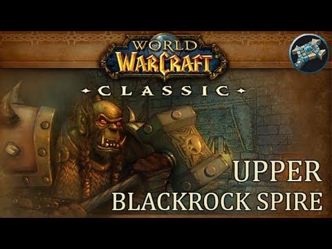 Upper Blackrock Spire (UBRS) Run | WoW Classic Gameplay | Priest