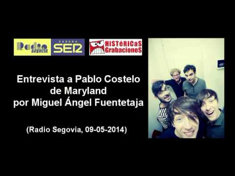 Entrevista a Pablo Castelo de Maryland (Radio Segovia, 09-05-2014)