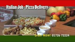 Italian Job Lcd Advert  01726 72224