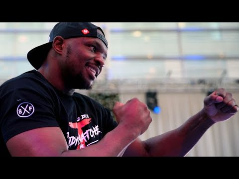 LIVE WITH DILLIAN WHYTE - TALKS FEB 3rd OFF, JOSHUA, FURY, POVETKIN, MILLER, WILDER, BROWNE!!