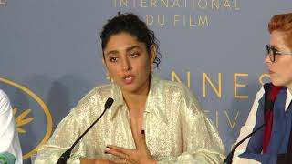 "Golshifteh Farahani ""they didnt want to be killed by a woman"""