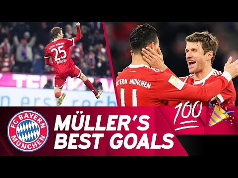 Marking 100 Bundesliga Goals: The Best of Thomas Müller! 💯