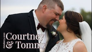 """""""I Had No Idea How Much My Life Was Going To Change"""" Courtney & Tommy Wedding"""