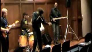 Mississippi Saxophone at Pee Dee Blues Bash Charlie sayles, Tony Fazio Kevin Shephard, Bigfootz