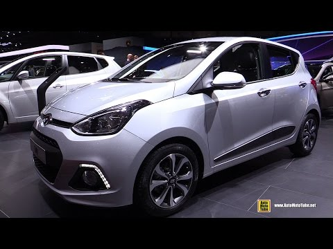 2015 Hyundai i10 1.2 - Exterior and Interior Walkaround - 2015 Geneva Motor Show