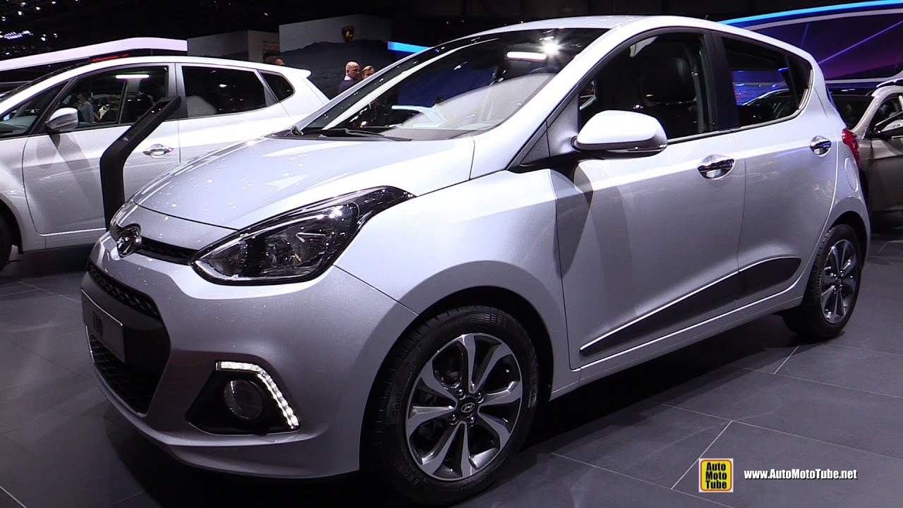2015 hyundai i10 1 2 exterior and interior walkaround. Black Bedroom Furniture Sets. Home Design Ideas
