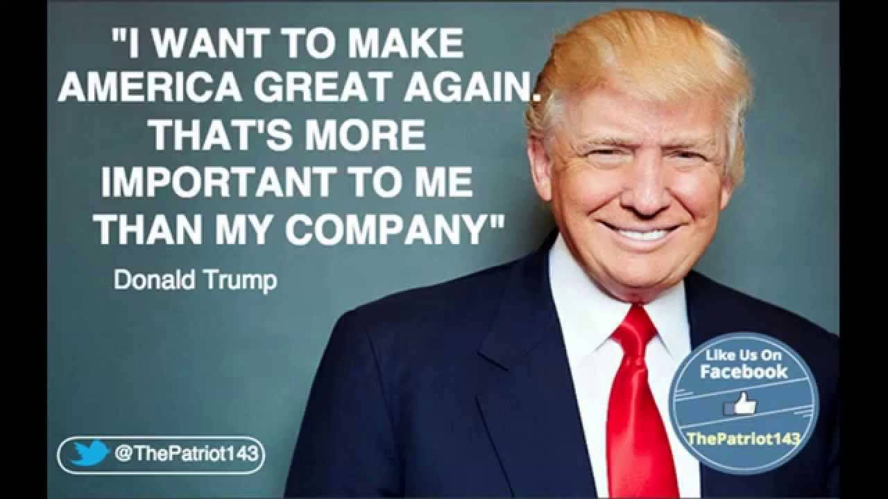 Image result for trump i want to make great again