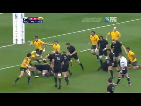 2015 rugby world cup final.  Part 2 the first half.