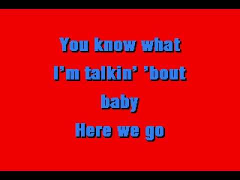 Ted Nugent -  Hey Baby - Karaoke