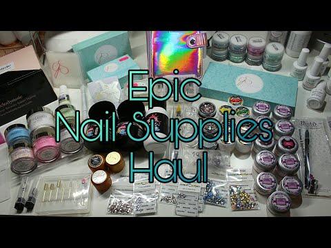 EPIC... Nail Art & Supplies Haul | Glitterbels, Cjp, Ink London & More