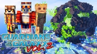 GUARDIANS of the GALAXY 2 vs MINECRAFT YOUTUBERS!