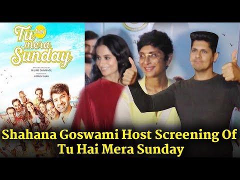 Tu Hai Mera Sunday Screening Host With Shahana Goswami | Uncut