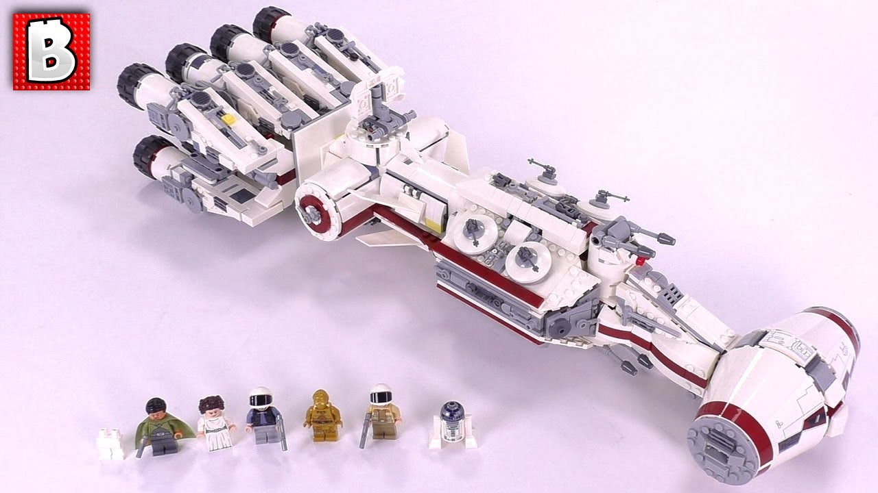 Tantive IV LEGO 75244  Full Review and Comparison with 2009 model