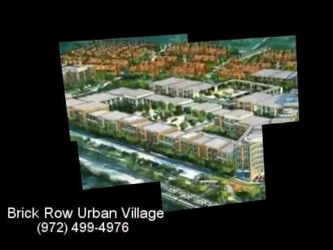 Brick Row Urban Village Apartments in Richardson, TX - YouTube