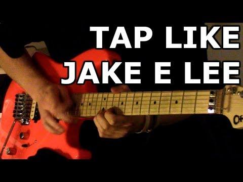 Tap Like Jake E Lee Lesson