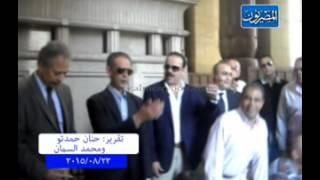 إصلاح الوفد: يلتقطون صور تذكارية  أمام  ضريح سعد زغلول