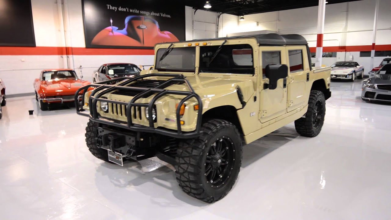 2006 HUMMER H1 Metallic Sand with Fuel wheels