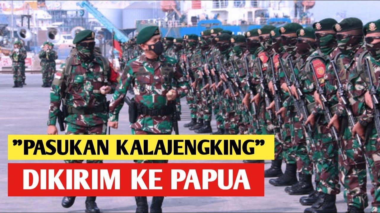 "Akhirnya PASUKAN TNI ""KALAJENGKING HITAM"" Diberangkatkan Ke PAPUA, TumPas KKB??"