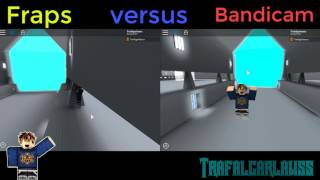 Which one is better? COMMENT DOWN! | FRAPS VS BANDICAM! RECORDING ON ROBLOX!
