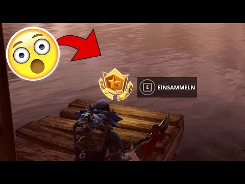 Search Between Three Boats Location! Week 8 Challenge (Fortnite Battle Royale)