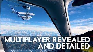 Flight Simulator 2020 - Multiplayer Revealed And Detailed