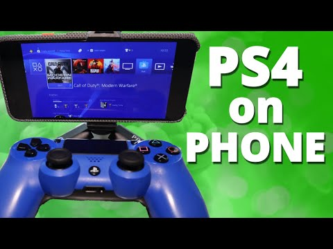 How To Setup PS4 Remote Play App With Dualshock PS4 Controller On Android Phones