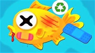 Little Panda Green Guard | Children Learn To Clean Up The City | Baby Panda Fun Games