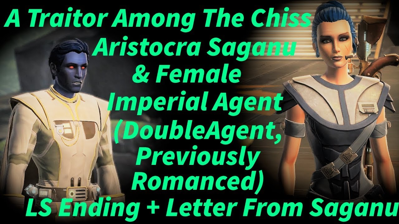 Swtor A Traitor Among The Chiss  Fem Imp Agent  Aristocra