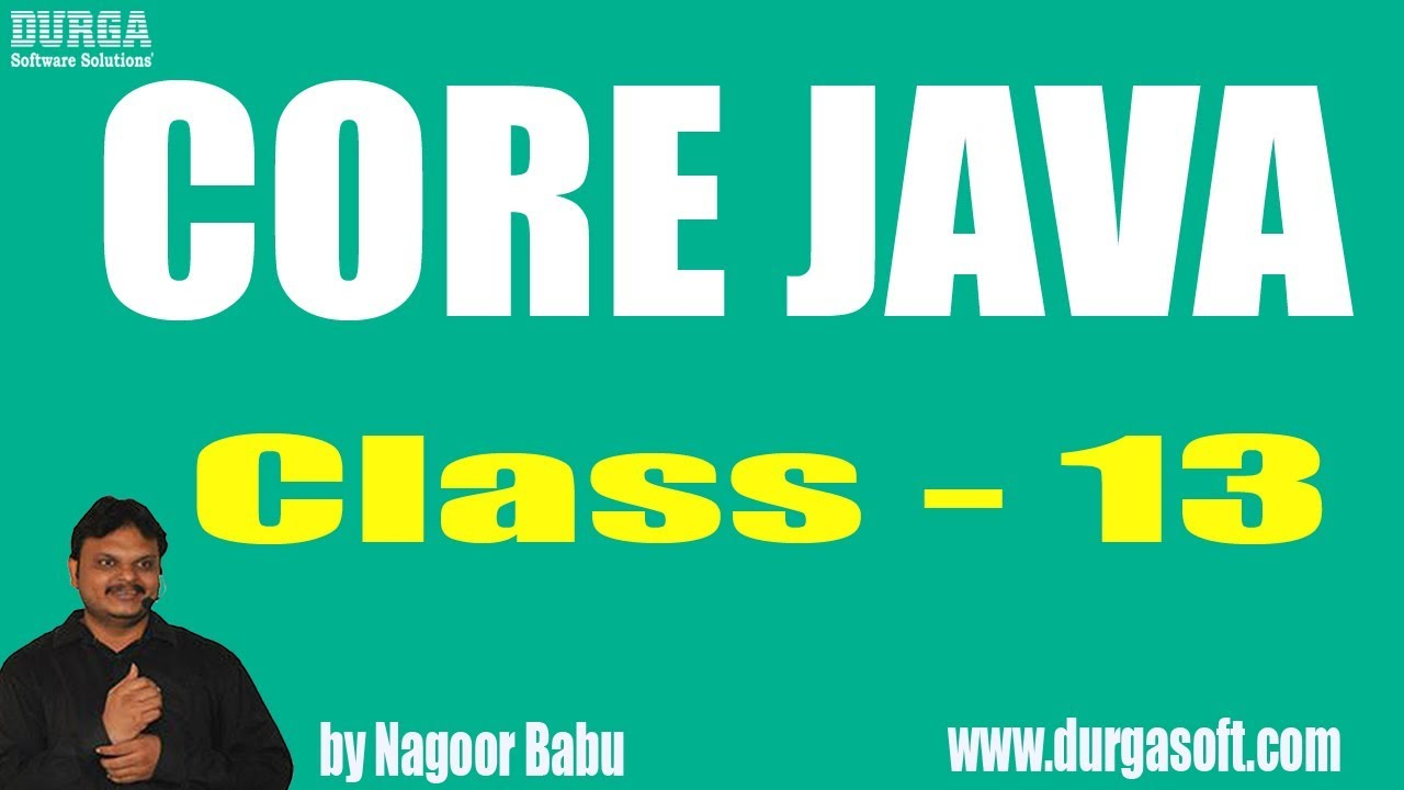 Learn core java programming tutorial online training by nagoor learn core java programming tutorial online training by nagoor babu sir on 20 03 2018 baditri Images