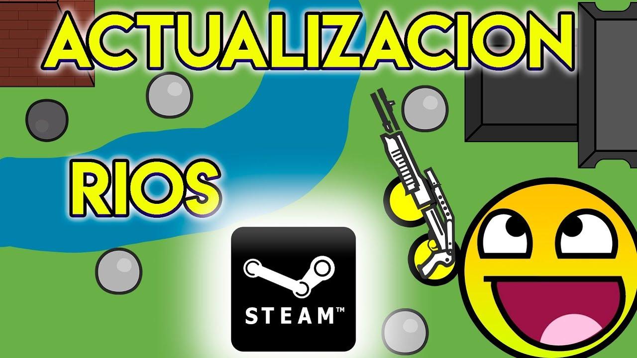 Se Filtra Nuevos Rios Y Posible Salida En Steam   Actualizacion Surviv Io    Gameplay Español  Dawgun 10:13 HD